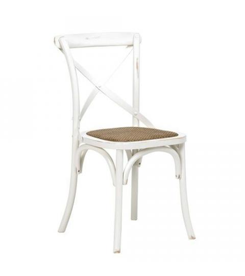 4bf348c5d9fe Jedálenská stolička s ratanovým sedadlom Harvest (SET 2 ks)