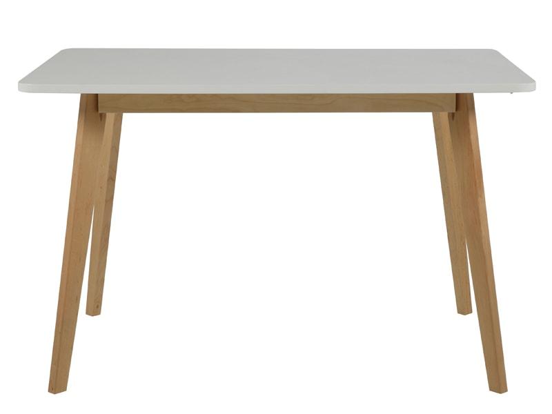 Jedálenský stôl Corby, 120 cm breza / biela, breza / biela