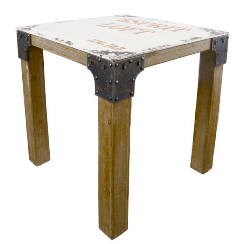 Jedálenský stôl drevený Loft, 76 cm, viac farieb