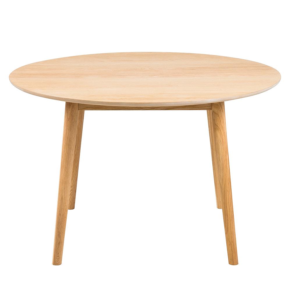 Jedálenský stôl okrúhly Nagy, 120 cm, dub