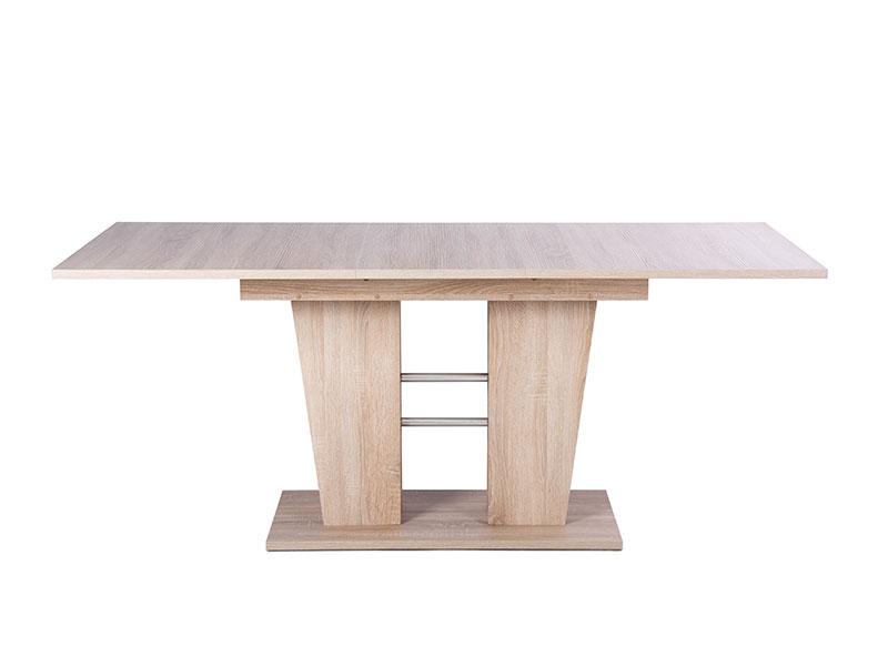 Jedálenský stôl rozkladací Brenda, 180 cm, dub, dub