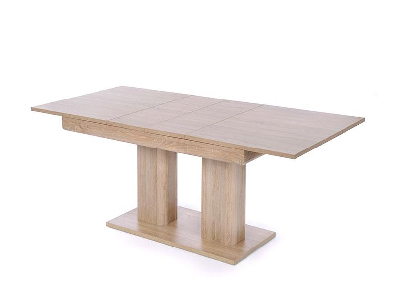 Jedálenský stôl rozkladací Hayden, 220 cm, dub, dub
