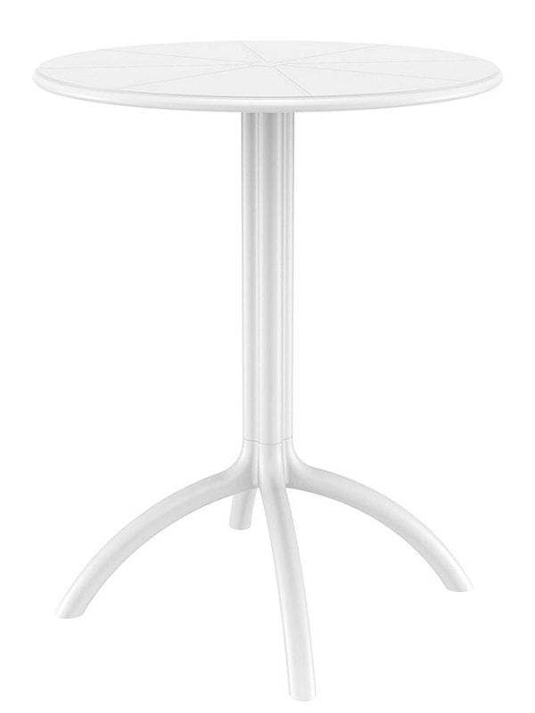 Jedálenský stôl vonkajší Octava, 60 cm, tmavo šedá