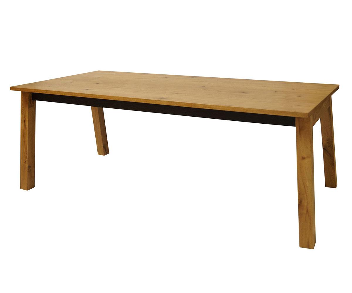 Jedálenský stôl Dayton, 200 cm, divoký dub, dub