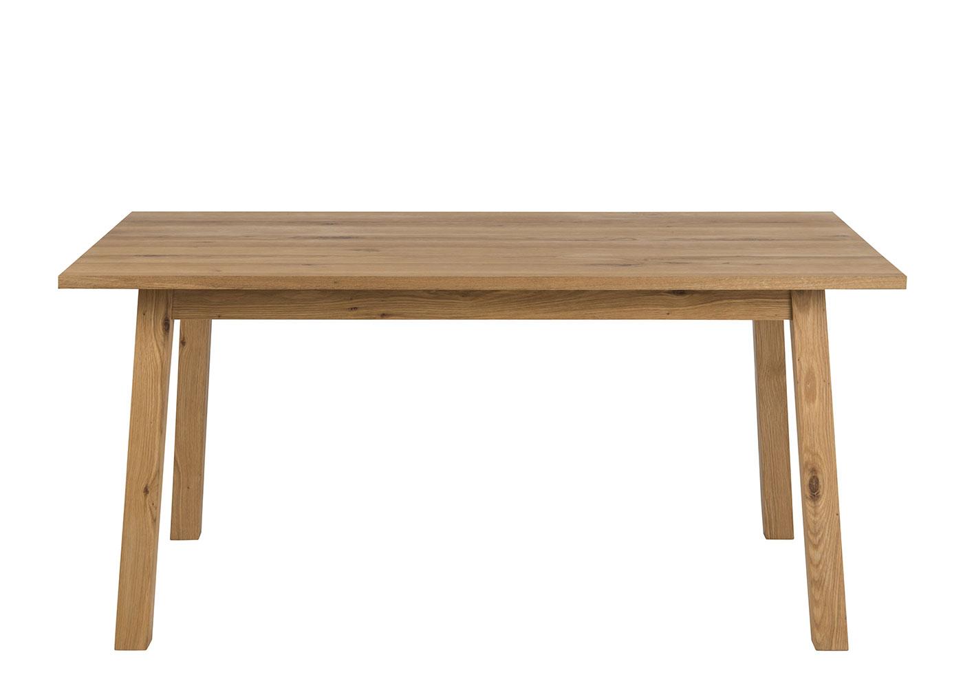 Jedálenský stôl Rachel, 160 cm, dub