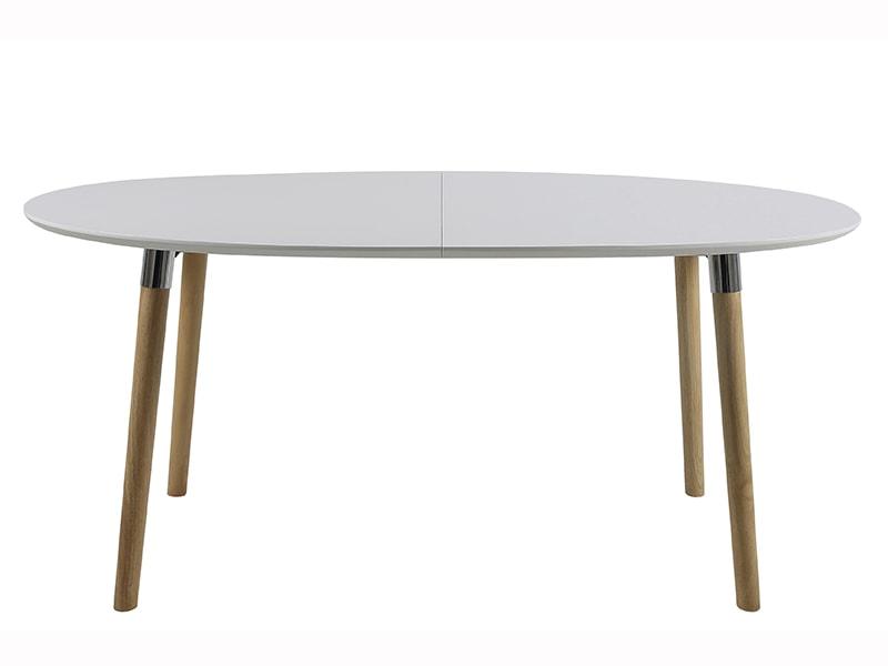 Jedálenský stôl rozkladací Ballet, 270 cm, biela / dub