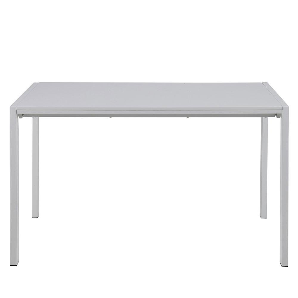 Jedálenský stôl rozkladací Brighton, 206 cm, biela