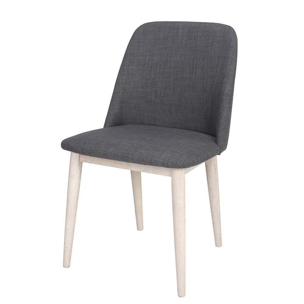 Jedálna stolička Octopus (SET 2 ks), antracitová, antracit