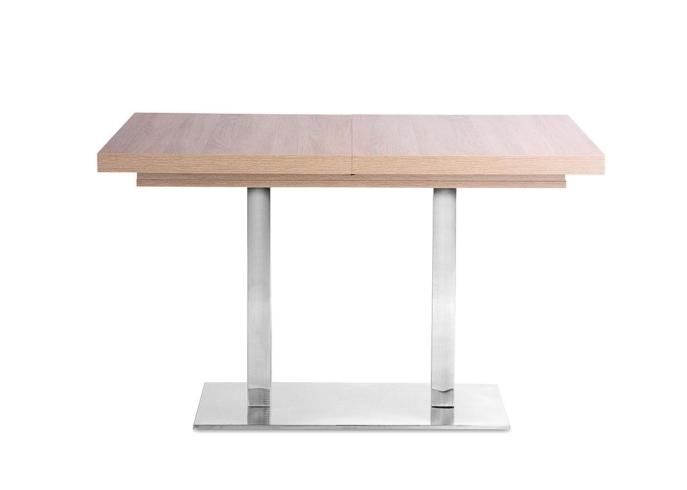 Jedálny stôl rozkladací August, 200 cm, dub, dub