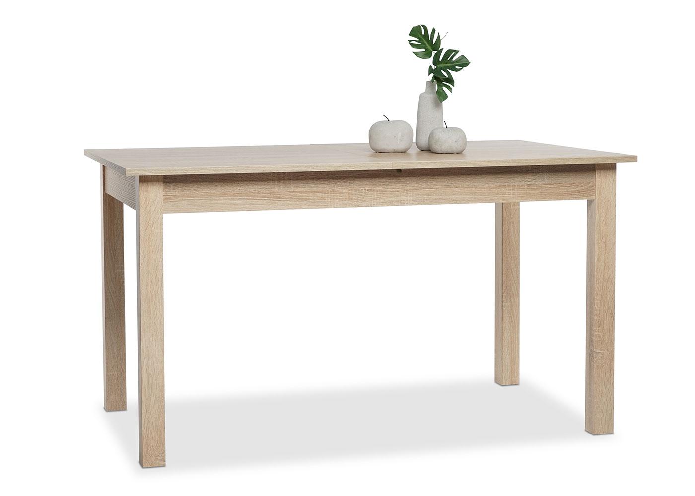 Jedálny stôl rozkladací Kronborg, 160 cm, dub, dub