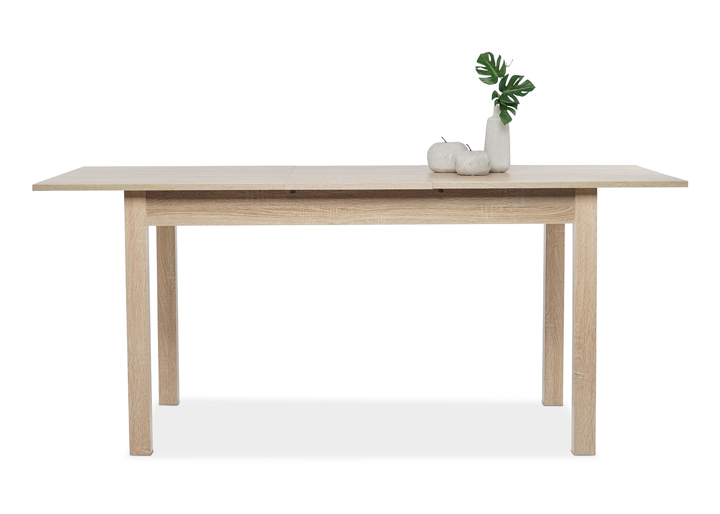 Jedálny stôl rozkladací Kronborg, 180 cm, dub, dub