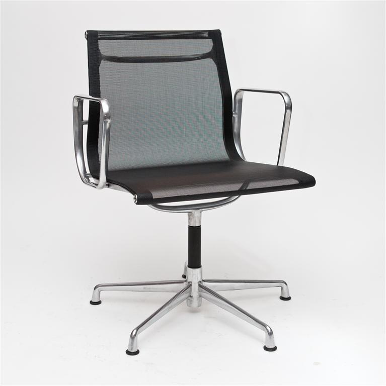 Konferenční židle Magnum, síťovina, černá