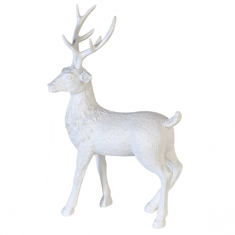 Jelen Poly, 40 cm, bílá