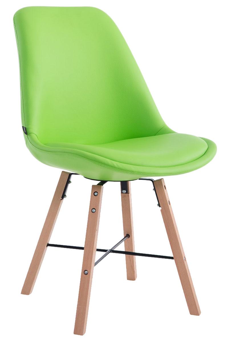 Jídelní čalouněná židle Cayen, přírodní nohy krémová