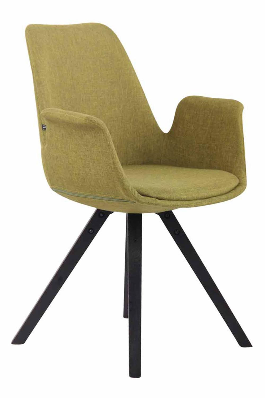 Jídelní čalouněná židle Prins textil, černé nohy