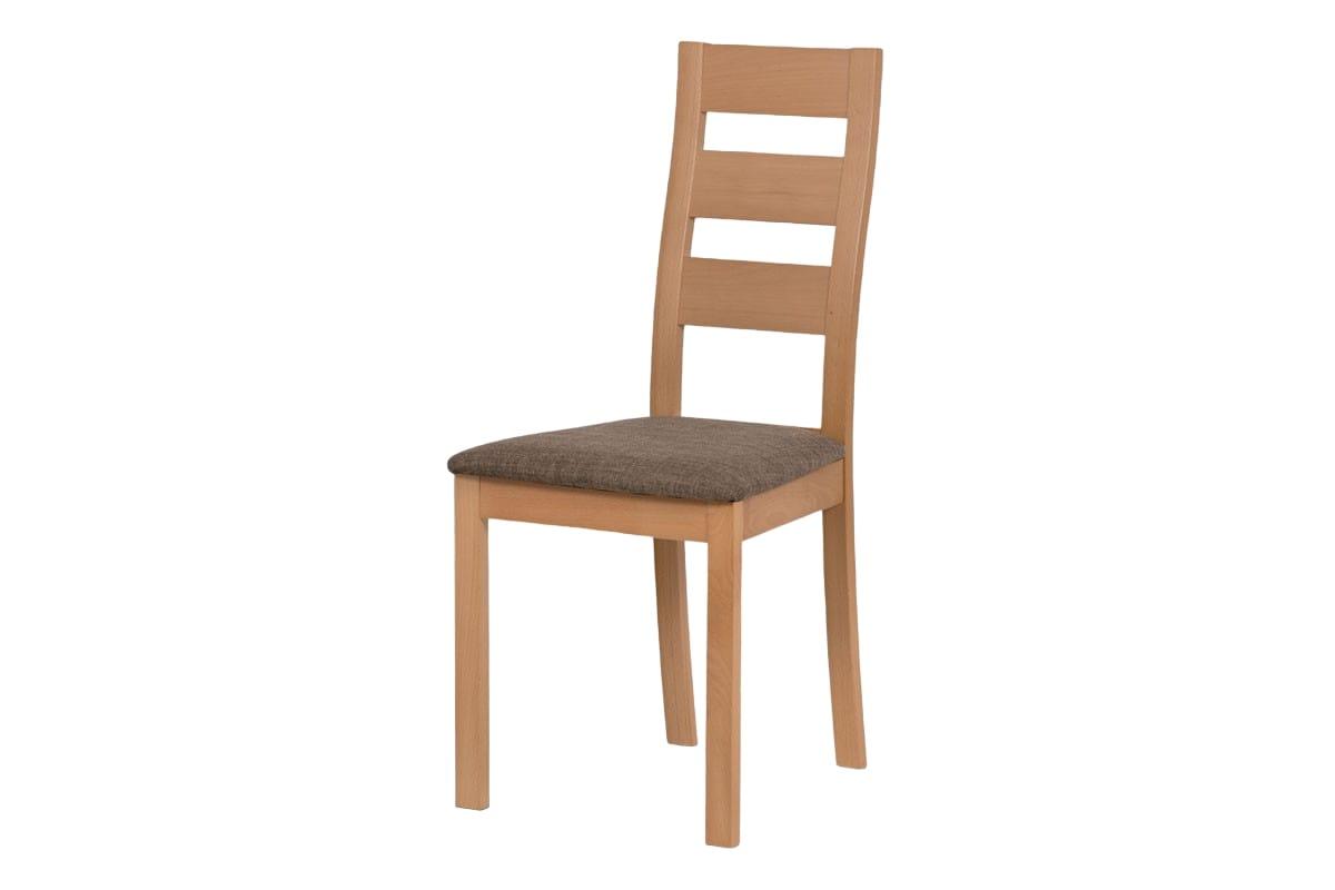 Jídelní dřevěná židle Horizont, buk/hnědá