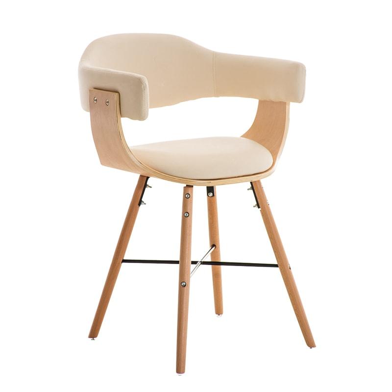 Konferenční / jídelní židle dřevěná Dancer (SET 2 ks)