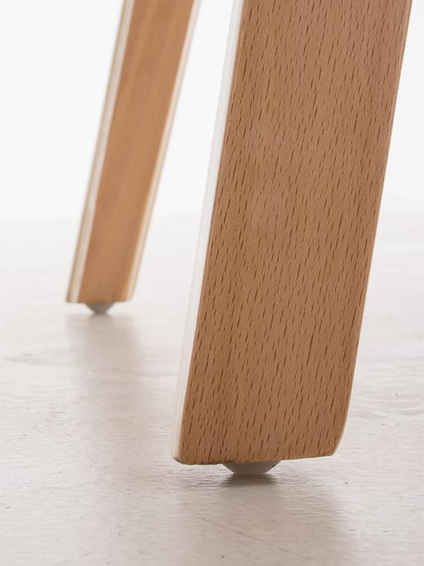 Konferenční / jídelní židle dřevěná Kingdom (SET 2 ks), bílá