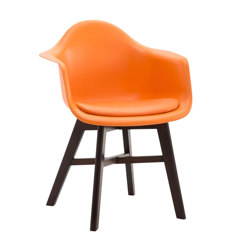 Konferenční / jídelní židle Kapital, podnož cappuccino