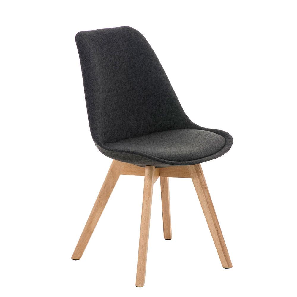 Konferenční / jídelní židle Lenora textil (SET 2 ks)