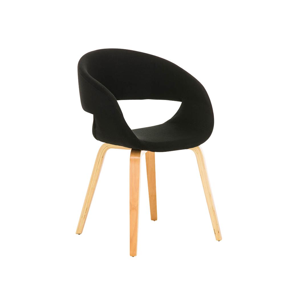 Konferenční / jídelní židle Patricia, černá