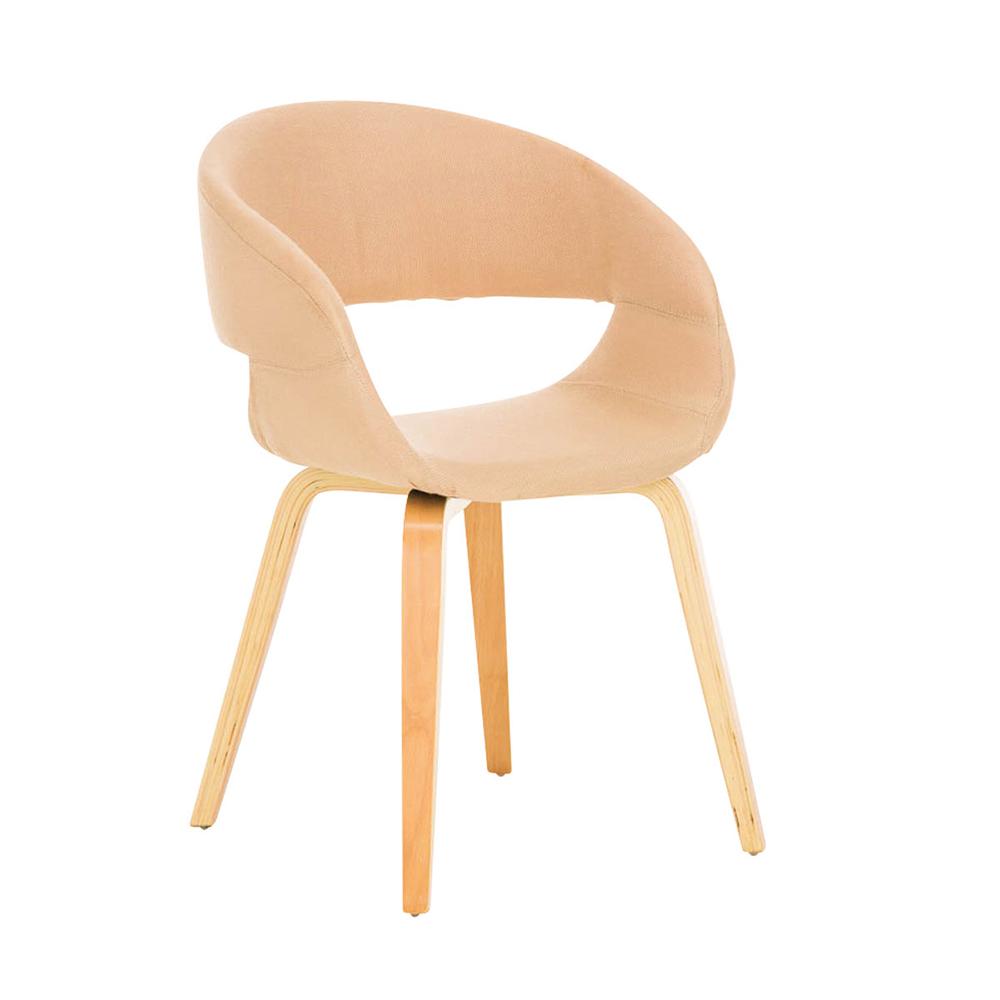 Konferenční / jídelní židle Patricia, krémová