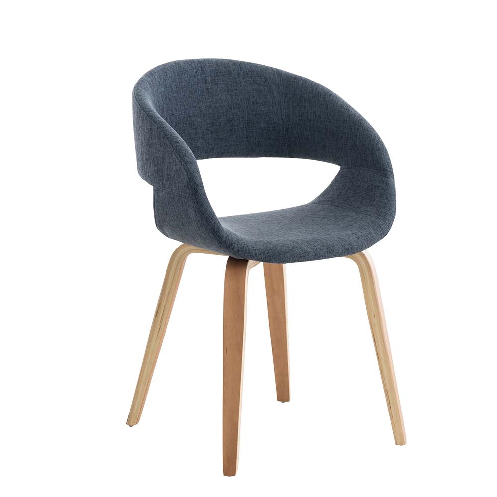 Konferenční / jídelní židle Patricia, modrá