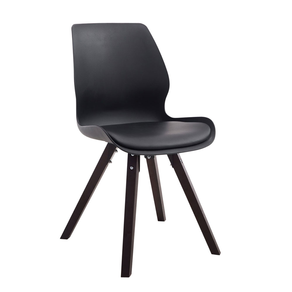 Konferenční / jídelní židle Peru, podnož cappuccino, plast