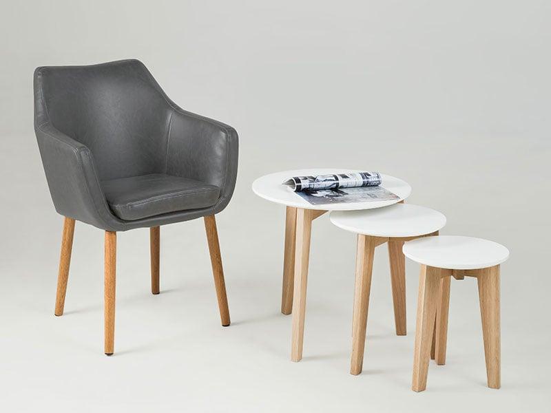 Konferenční / jídelní židle s područkami Marte