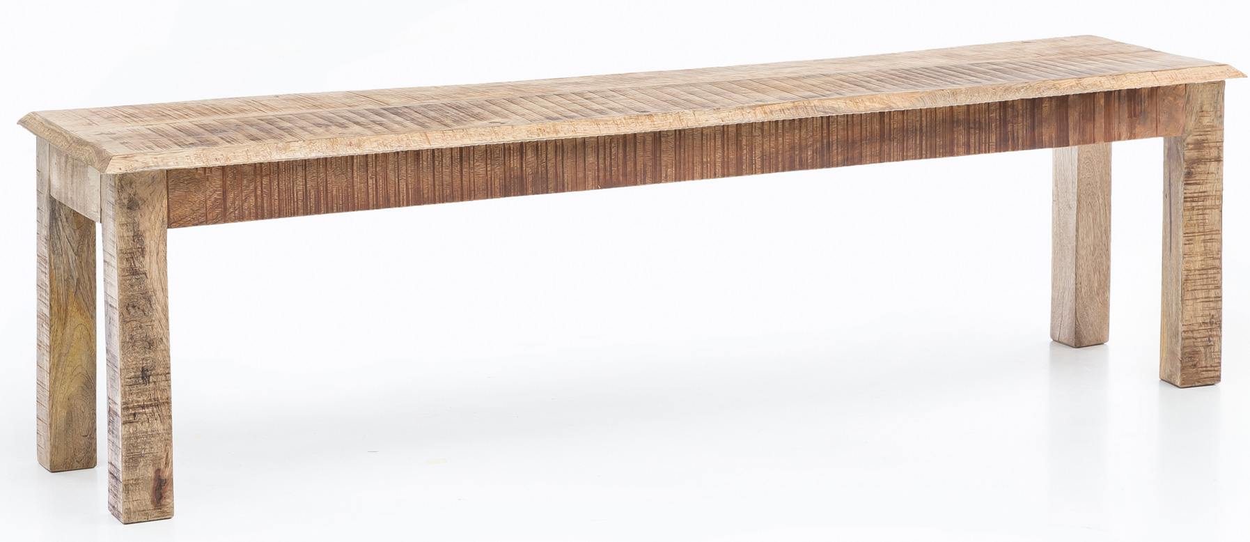Jídelní lavice Rustica, 120 cm, mangové dřevo