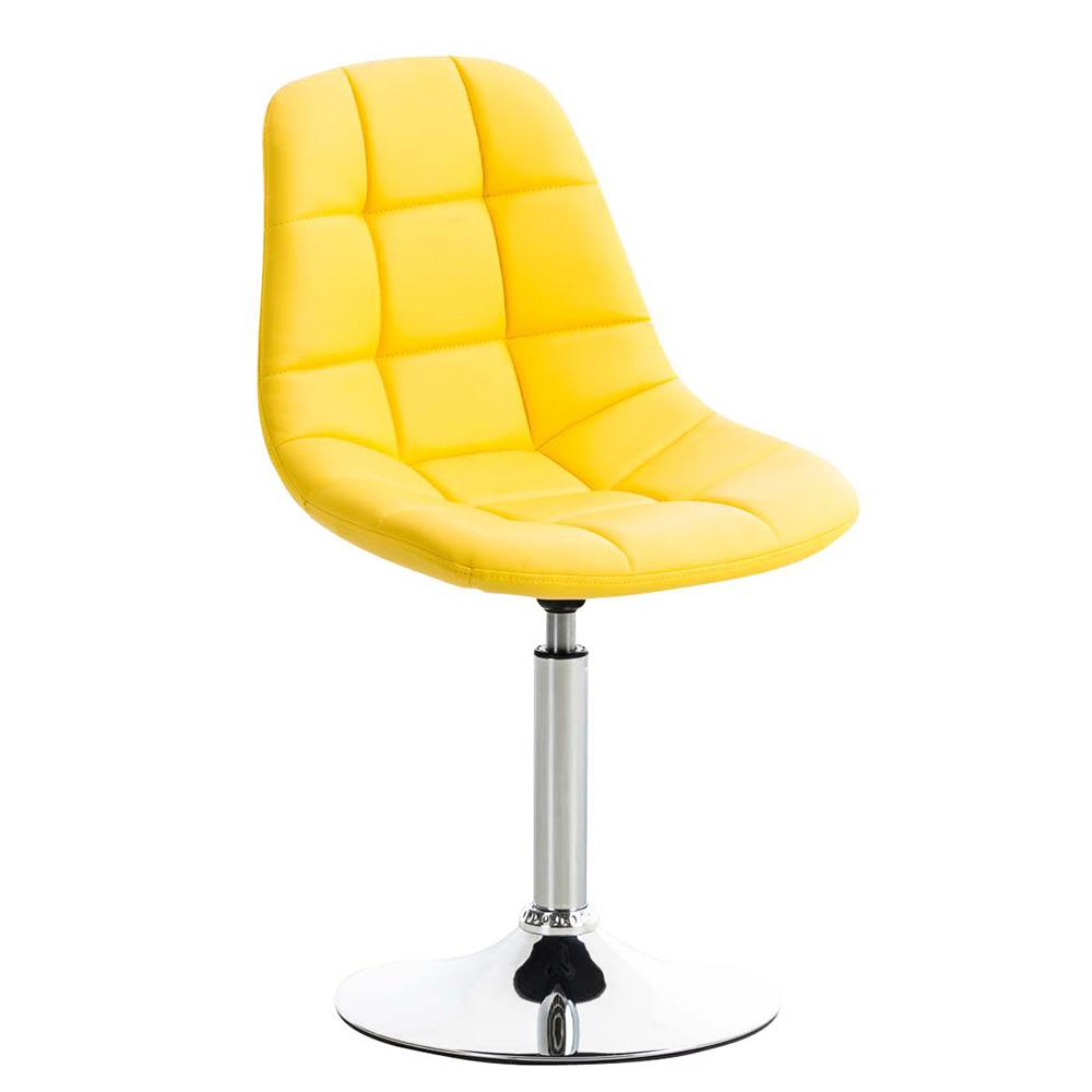 Jídelní otočná židle Miley kůže taupe