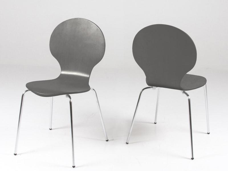 Jídelní překližková židle Line (SET 4 ks)
