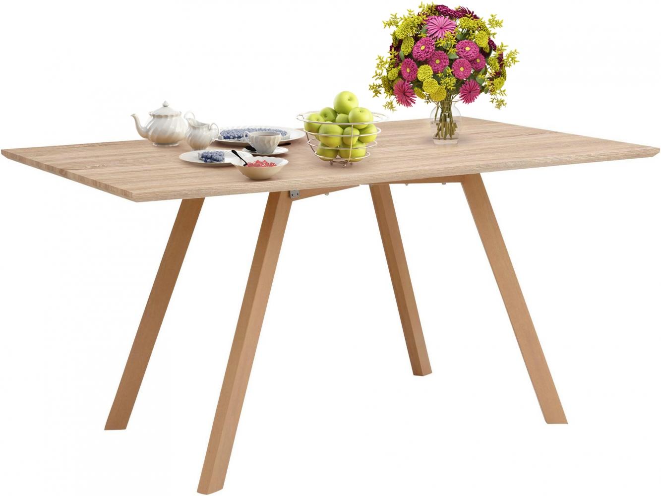 Jídelní stůl Alex, 120 cm, dub