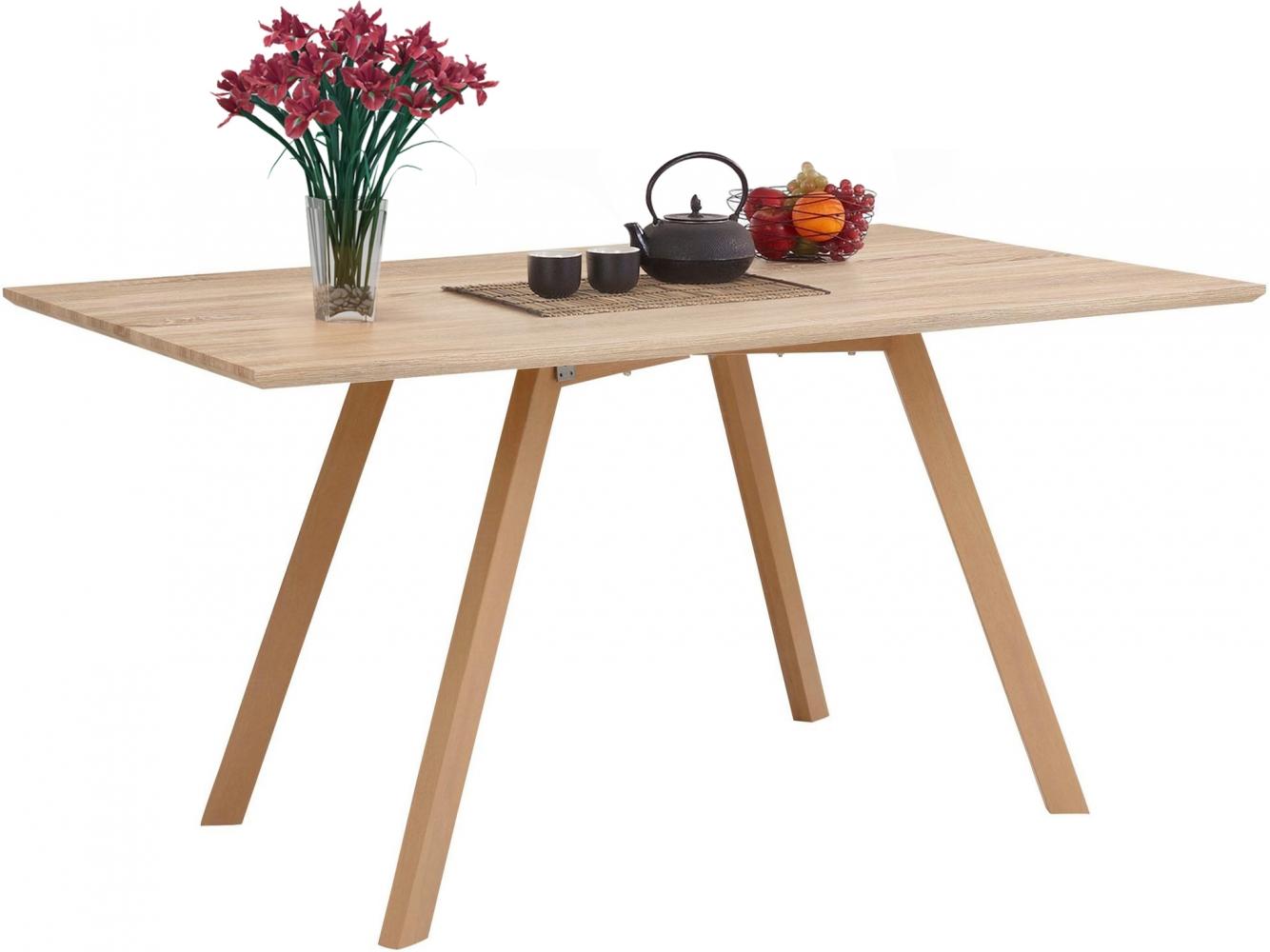 Jídelní stůl Alex, 160 cm, dub