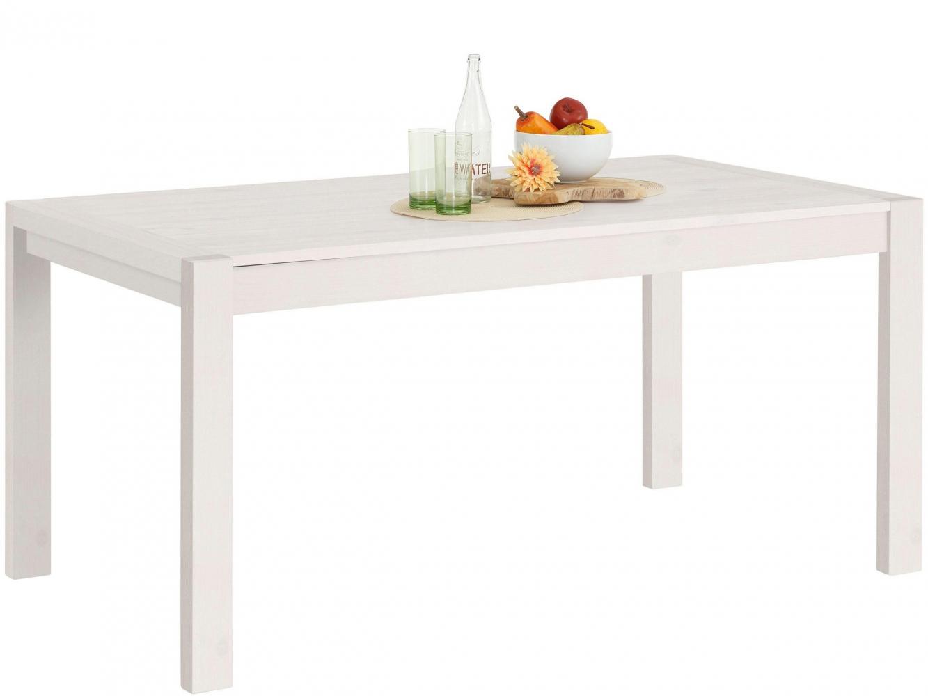 Jídelní stůl Alla, 160 cm, bílá