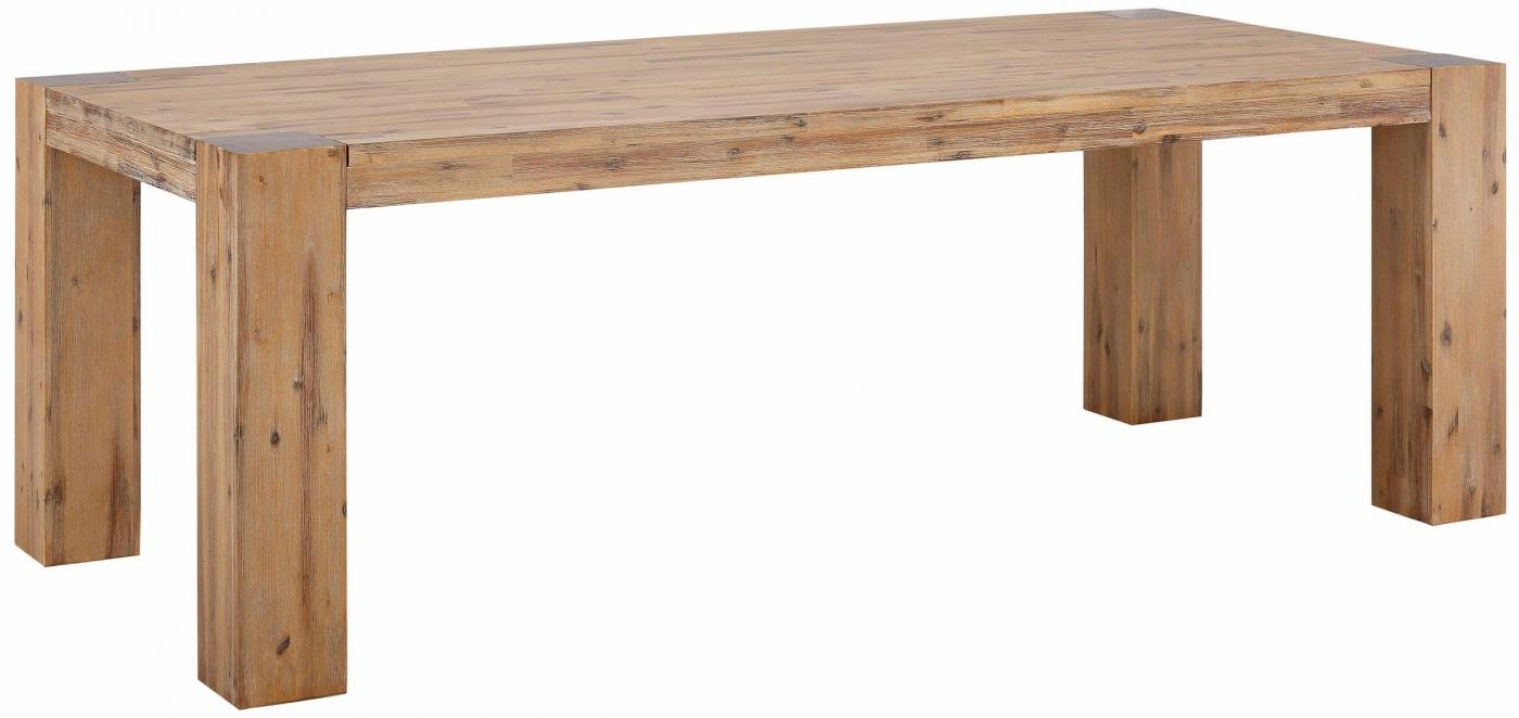 Jídelní stůl Asiha, 220 cm, masivní akát