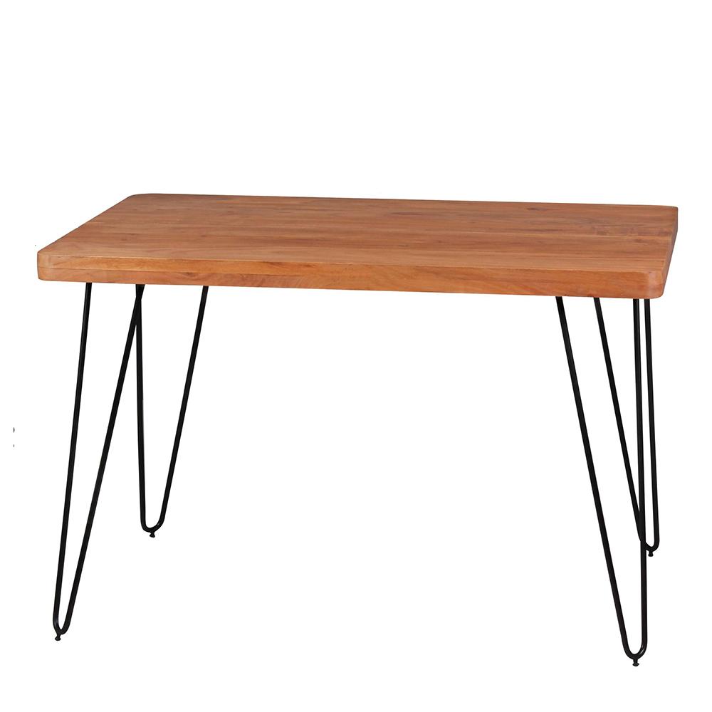 Jídelní stůl Bagli, 120 cm, masiv akát