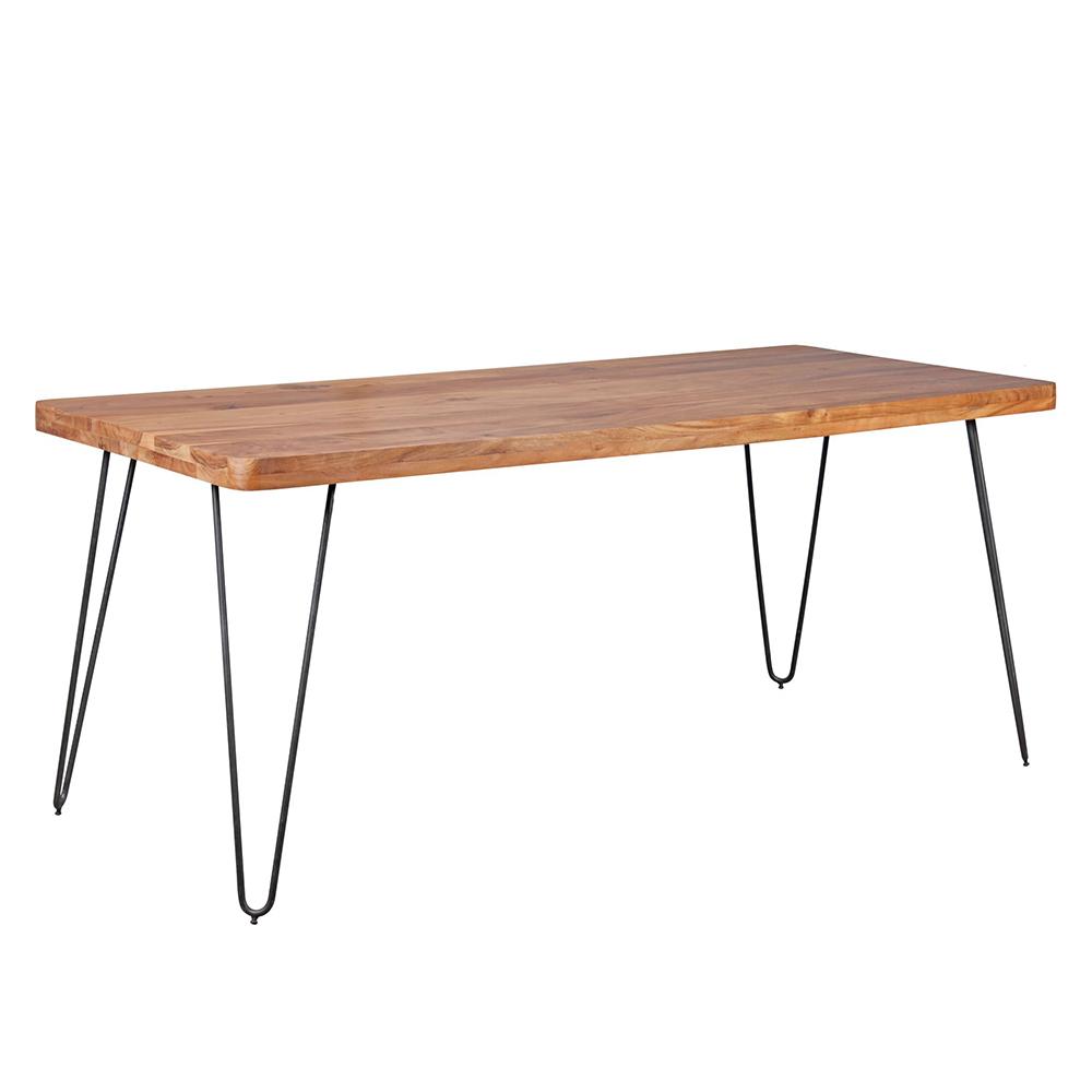 Jídelní stůl Bagli, 180 cm, masiv akát