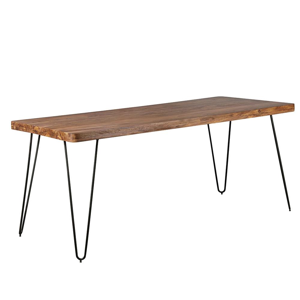 Jídelní stůl Bagli, 180 cm, masiv Sheesham
