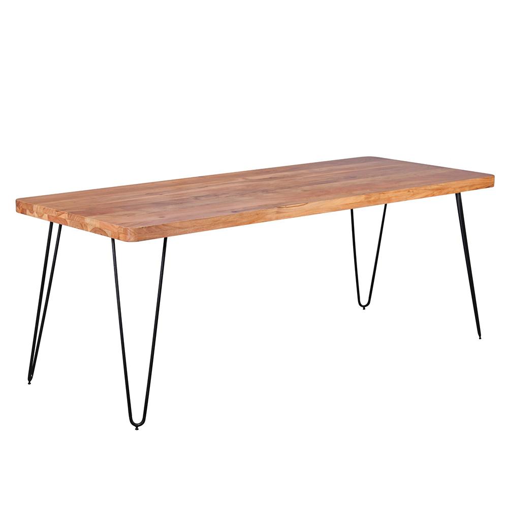 Jídelní stůl Bagli, 200 cm, masiv akát