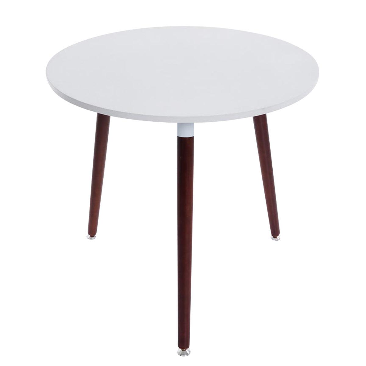 Jídelní stůl Benet kulatý, 80 cm, nohy cappuccino