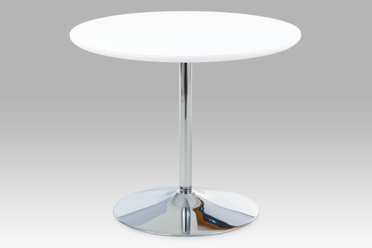 Jídelní stůl Bernard, 90 cm, bílá
