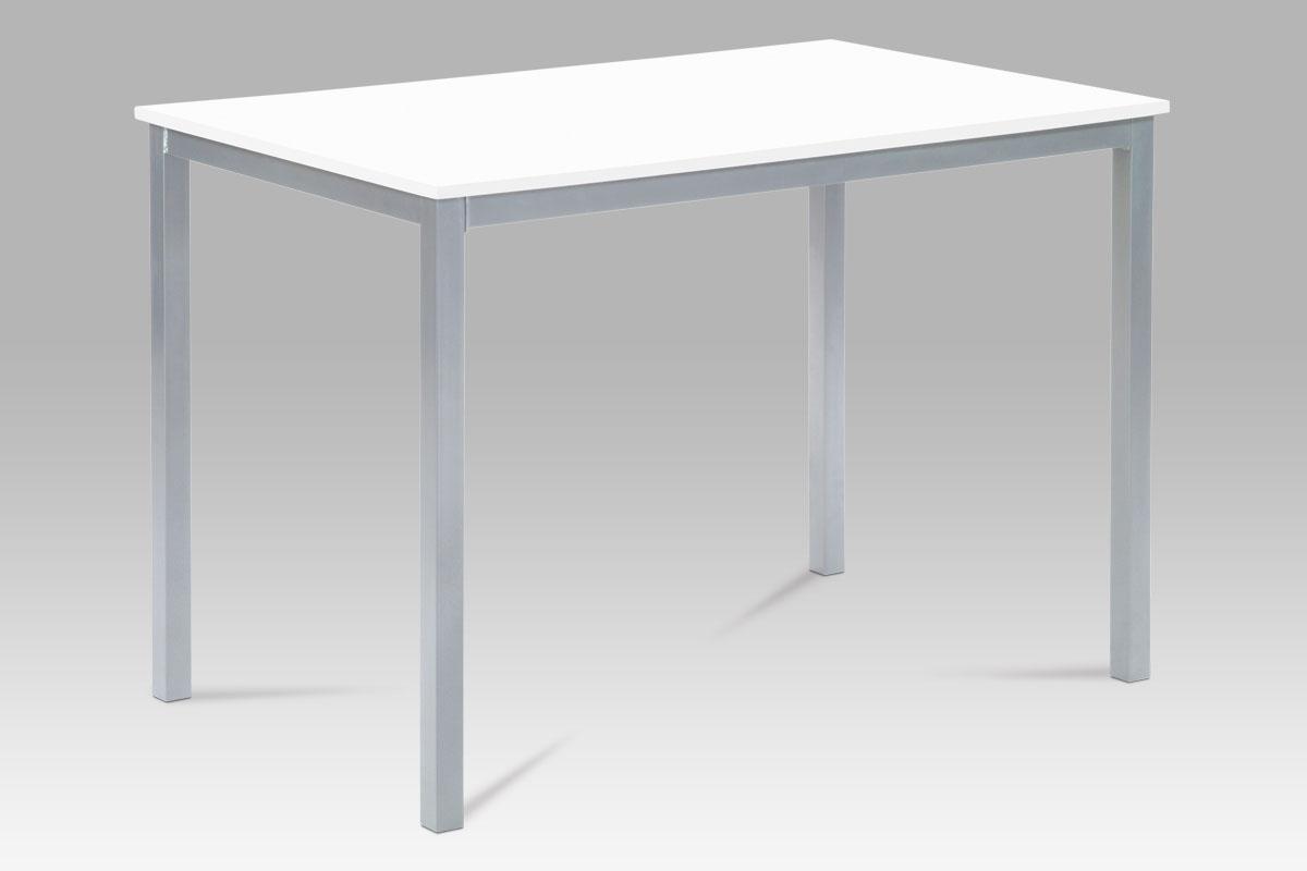 Jídelní stůl Bertina, 110 cm, bílá