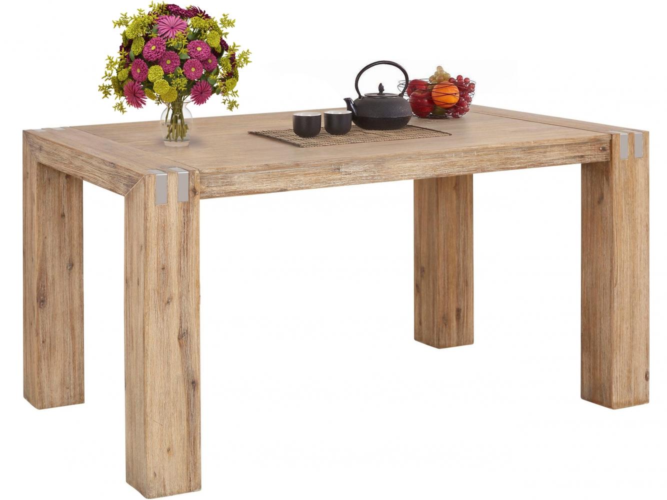 Jídelní stůl Bosan, 160 cm, akát