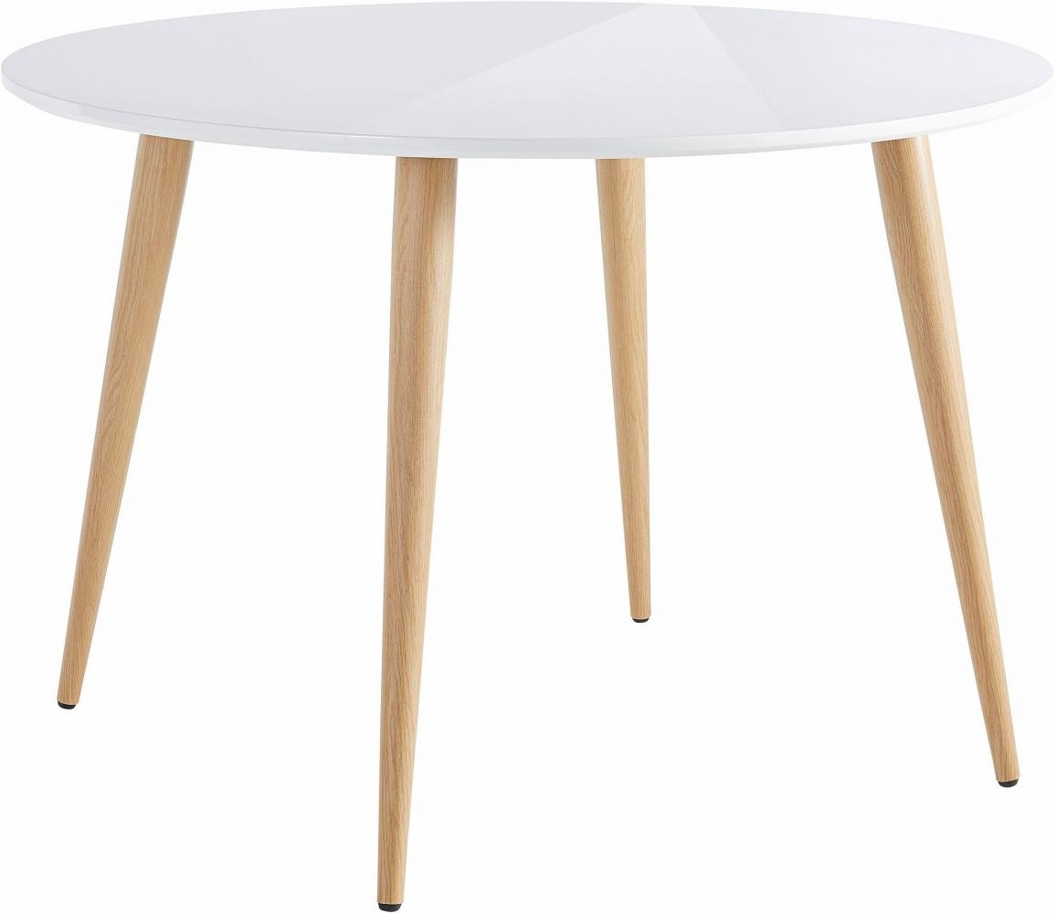 Jídelní stůl Canto, 110 cm, bílá