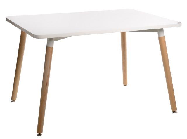 Jídelní stůl Clara, 120 cm, bílá