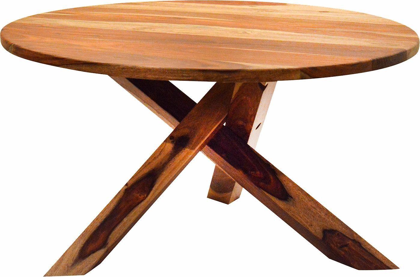 Jídelní stůl Cleve, 76 cm, masivní mango