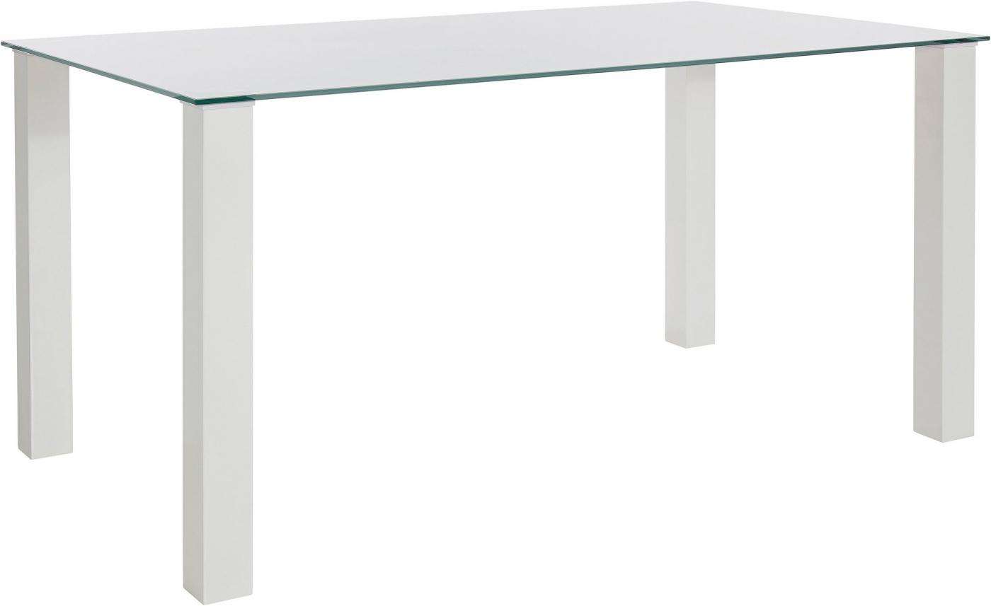 Jídelní stůl Dant, 160 cm, bílá
