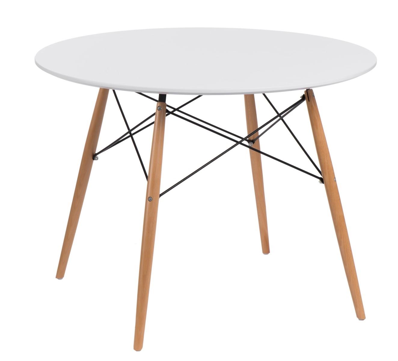 Jídelní stůl Desire, 100 cm, bílá