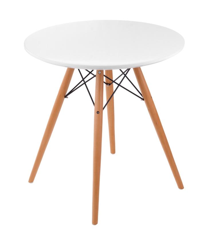 Jídelní stůl Desire, 70 cm, bílá
